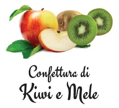 confettura kiwi mela